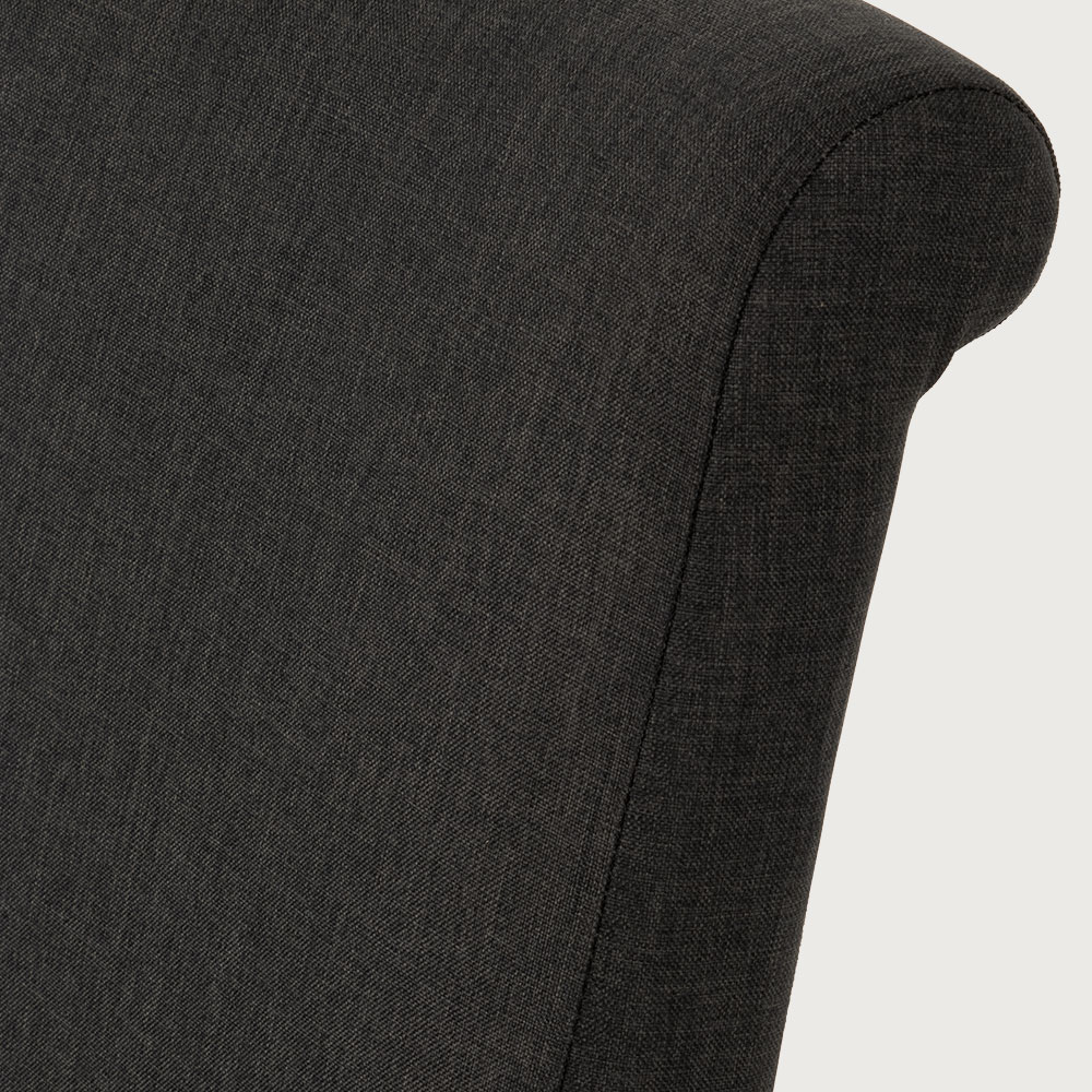 Ashville Dining Chair, Charcoal