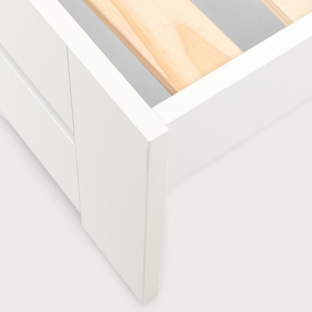 Franz Bed Frame, White