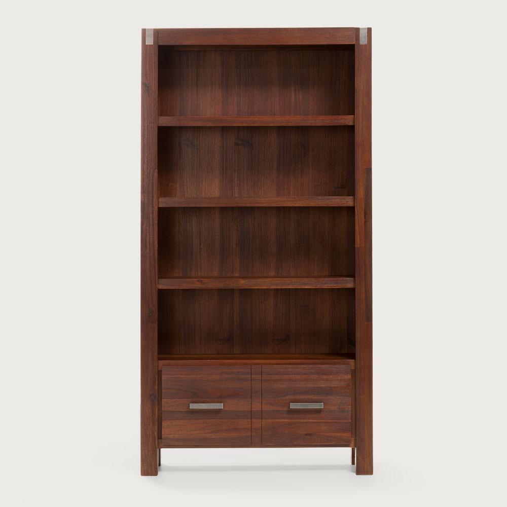 Brix Bookcase, Dark