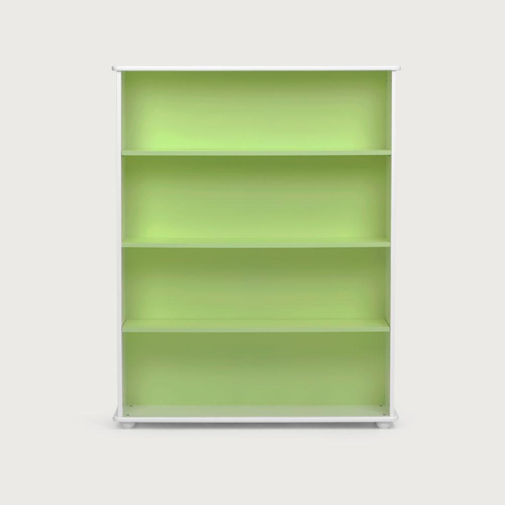 Carnival Wide Bookcase, Green