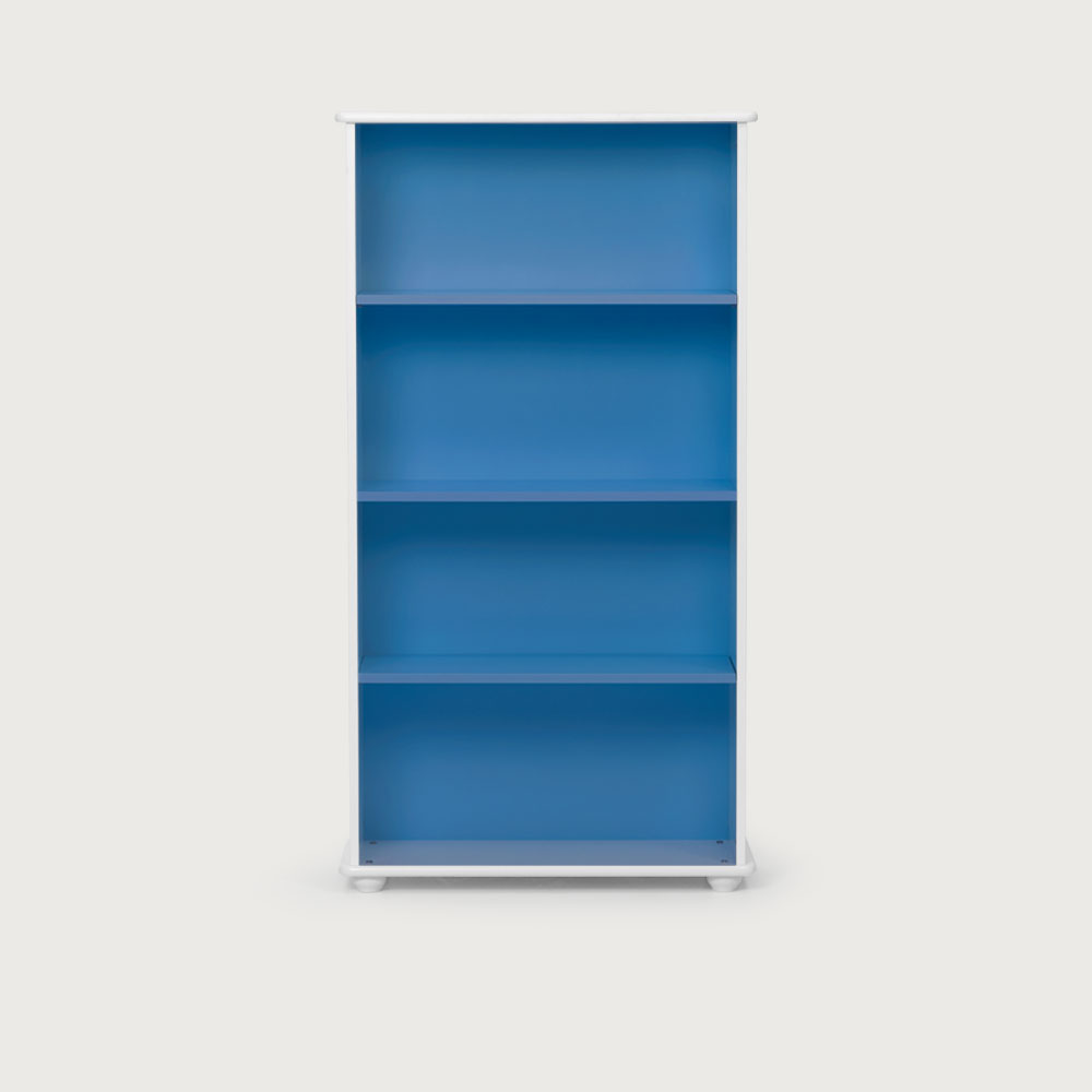 Carnival Narrow Bookcase, Blue