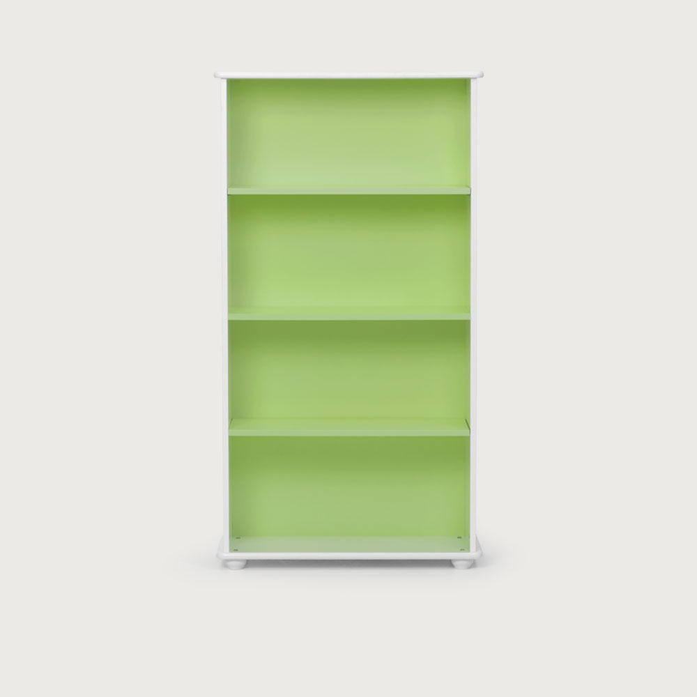 Carnival Narrow Bookcase, Green