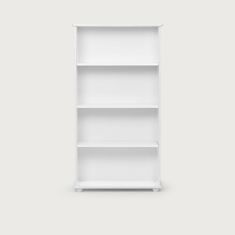 Carnival Narrow Bookcase, White