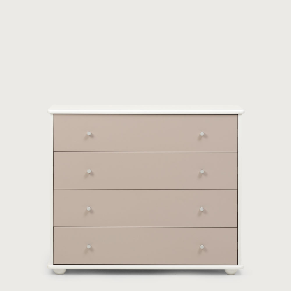 Carnival 4 Drawer Chest, Toffee