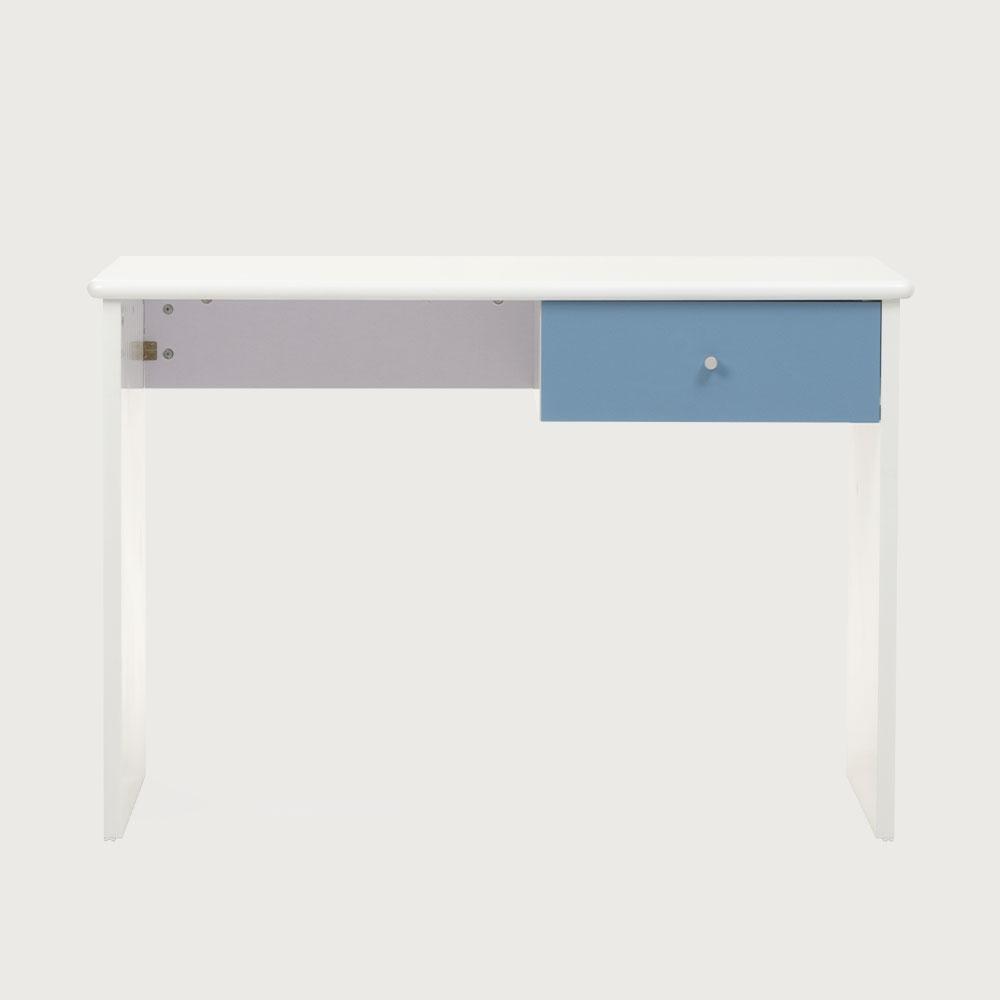 Carnival 1 Drawer Desk, Light Blue