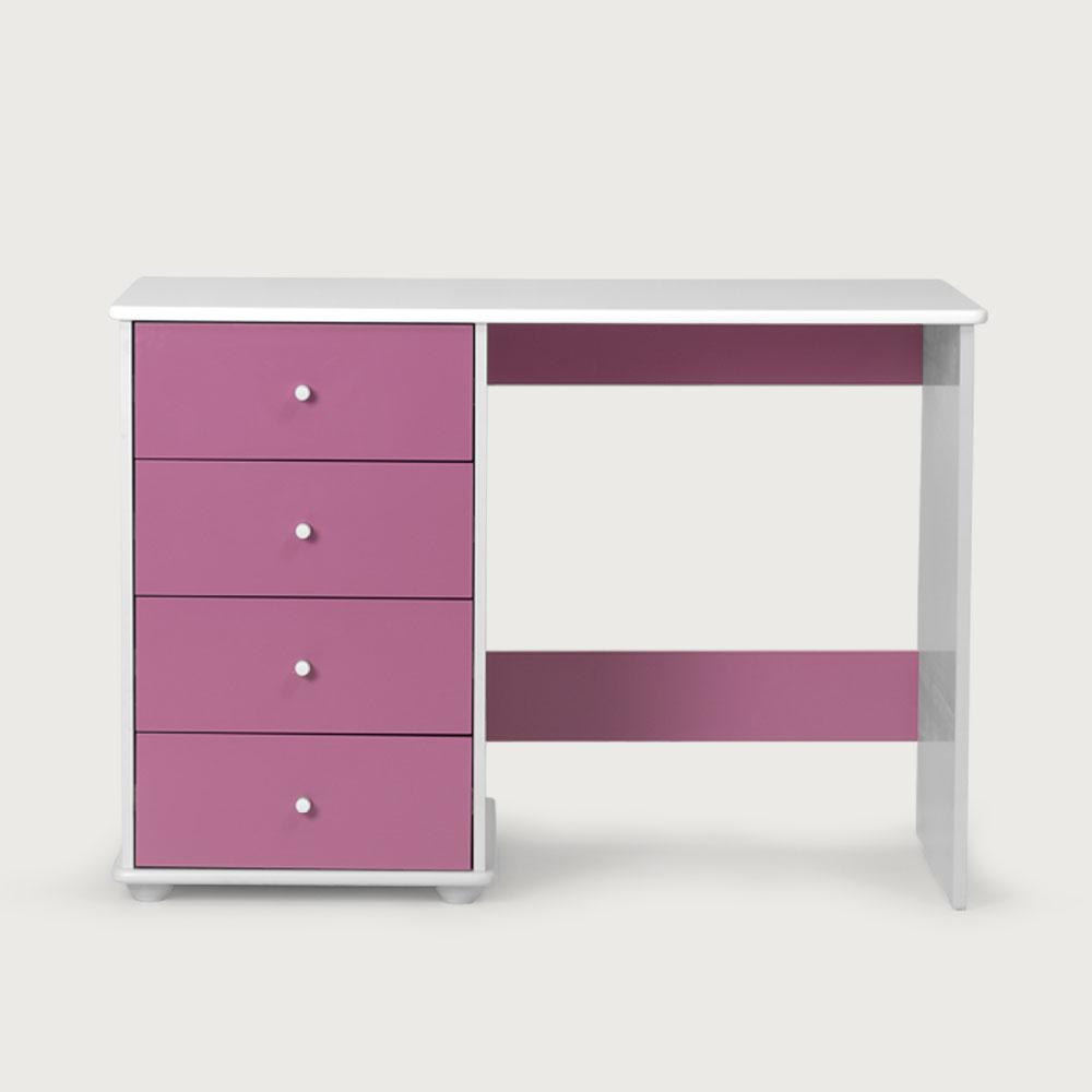 Carnival 4 Drawer Desk, Purple