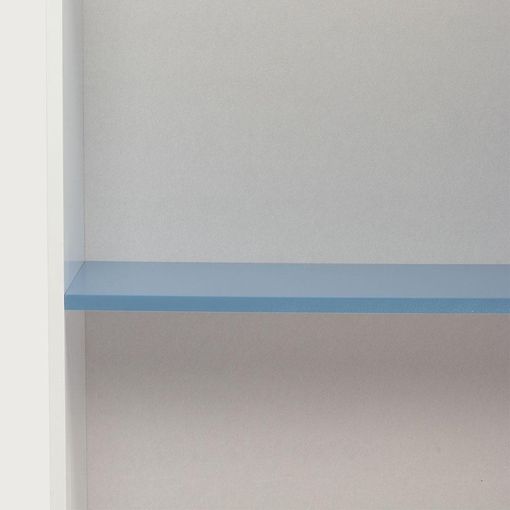 Carnival 1 Shelf Bookcase, Light Blue