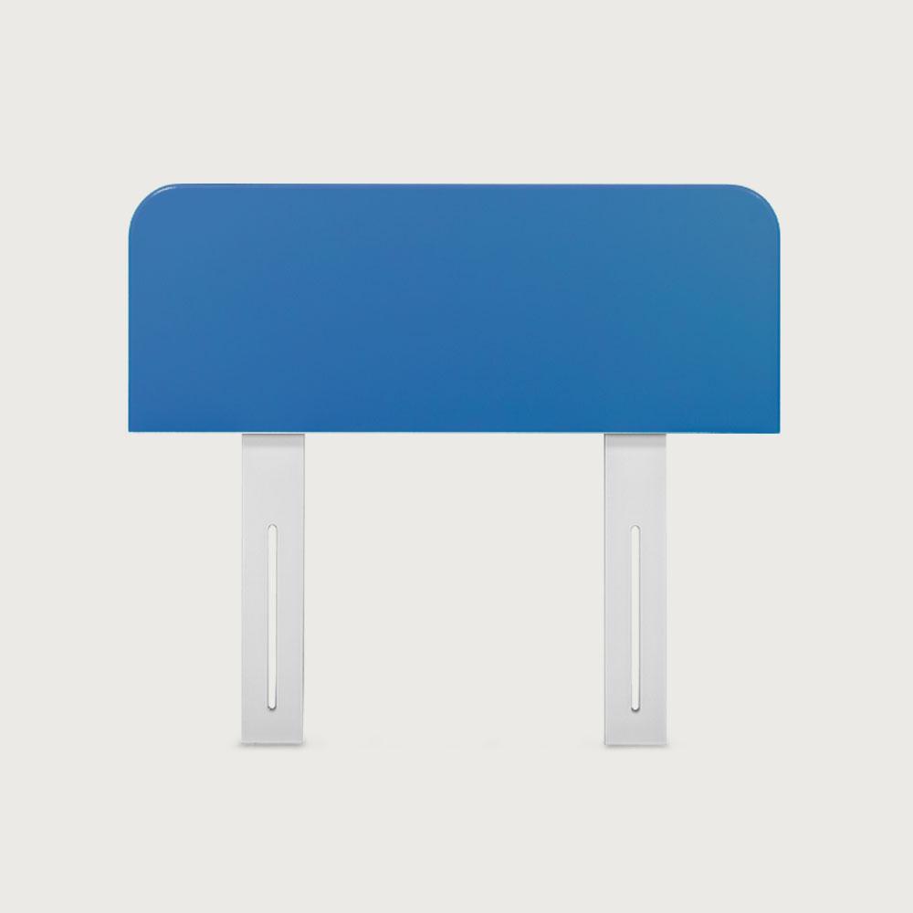 Carnival Single/King Single Headboard, Blue