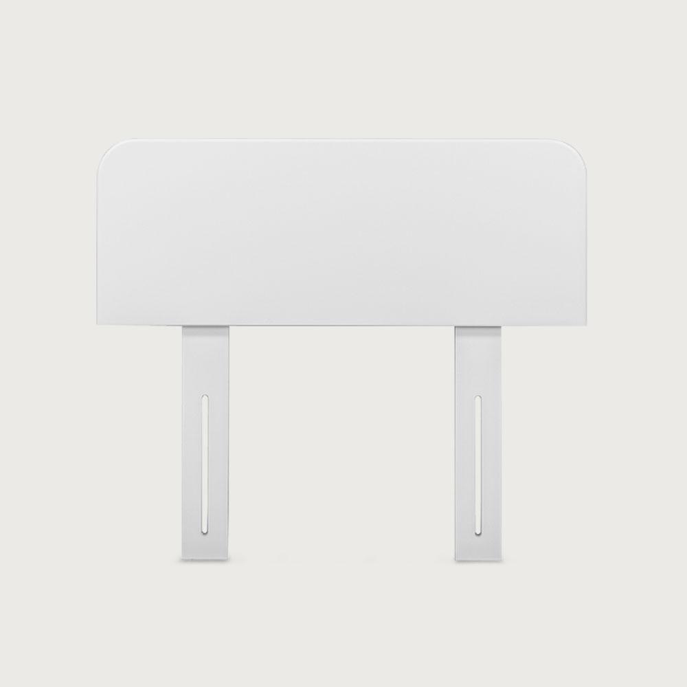 Carnival Single/King Single Headboard, White