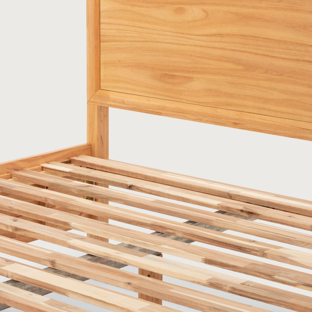 Larvik Queen Bed Frame With Storage