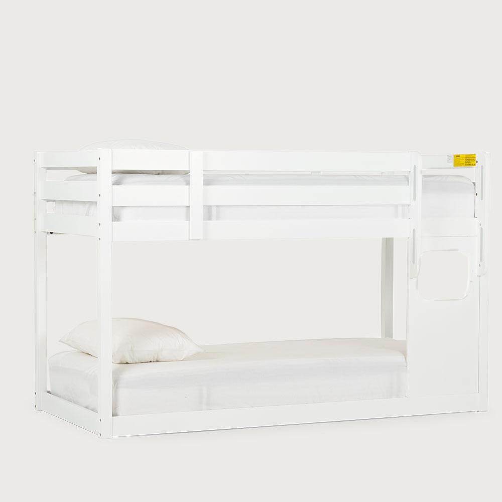 Avery Single/ Single Bunk Bed Frame, White