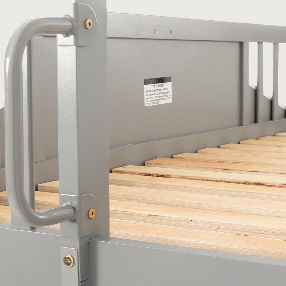 Zara Playhouse Single Bunk Bed Frame