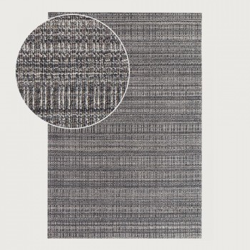 Signature Rugs Jax Rug - 160 x 230 cm, Metal Grey