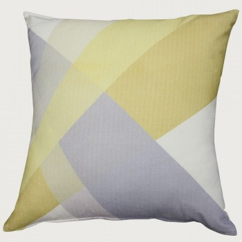 Vector Cushion - Feather Inner, Gold/ Champagne