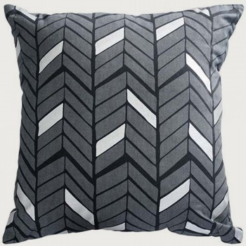 Limon Vienne Cushion - Poly Inner, Charcoal