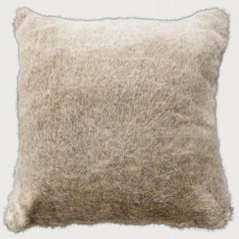 Limon Glenhope Faux Fur Cushion - Poly Inner, Sable