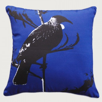 Limon Tui Outdoor Cushion - Poly Inner, Blue