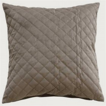 Limon  Belvoir Cushion - Feather Inner , Taupe