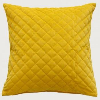 Limon  Belvoir Cushion - Feather Inner , Sulphur