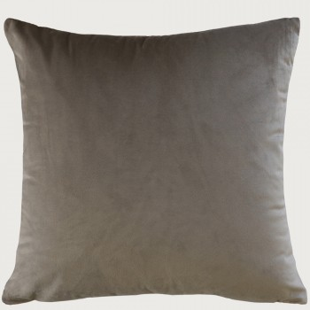 Limon Emperor Cushion - Feather Inner, Taupe