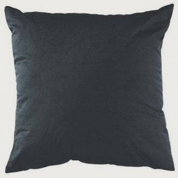 Limon Emperor Cushion - Feather Inner, Charcoal
