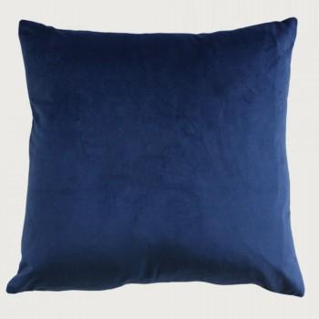 Limon Emperor Cushion - Feather Inner, Indigo Blue