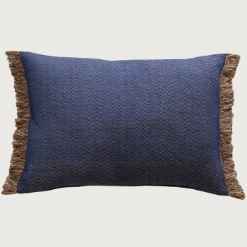 Limon  Ethan Cushion - Poly Inner, Blue