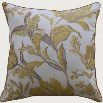 Limon Sadie Cushion - Feather Cushion, Cream/Yellow