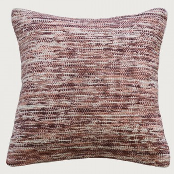 Limon Oregon Cushion - Feather Inner, Red Clay