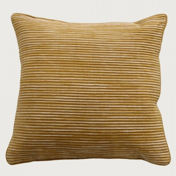 Limon Rakaia Cushion - Poly Inner, Ochre