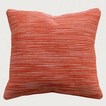 Limon Rakaia Cushion - Feather Inner, Burnt Orange