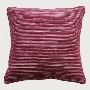 Limon Rakaia Cushion - Poly Inner, Port Red