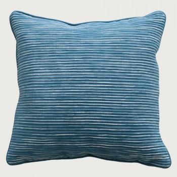 Limon Rakaia Cushion - Feather Inner, Atlantic