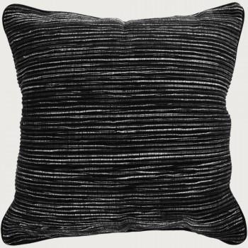 Limon Rakaia Cushion - Poly Inner, Black