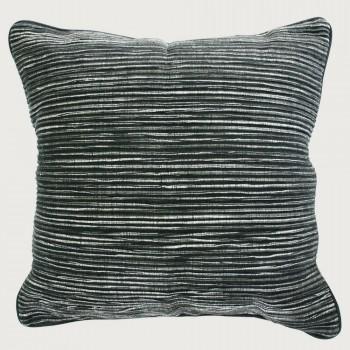 Limon Rakaia Cushion - Feather Inner, Black