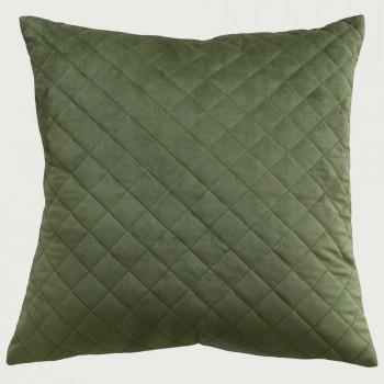 Limon  Belvoir Cushion - Feather Inner , Khaki