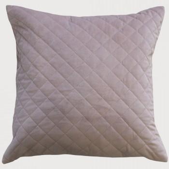 Limon  Belvoir Cushion - Feather Inner , Dusky Pink