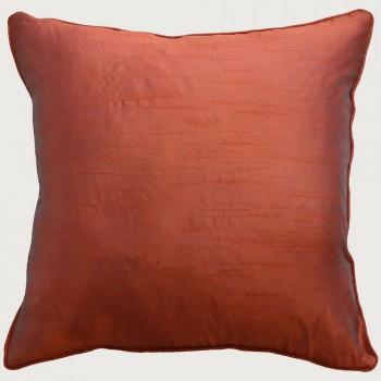 Limon Essence Cushion - Feather Inner, Terracotta