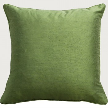 Limon Essence Cushion - Feather Inner, Moss Green