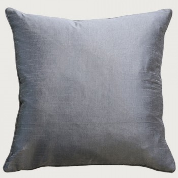 Limon Essence Cushion - Feather Inner, Silver