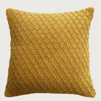 Limon Kapiti Cushion - Feather Inner , Golden Yellow