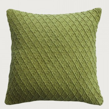 Limon Kapiti Cushion - Feather Inner , Moss Green