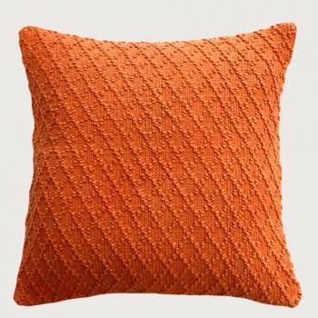 Limon Kapiti Cushion - Feather Inner , Burnt Orange