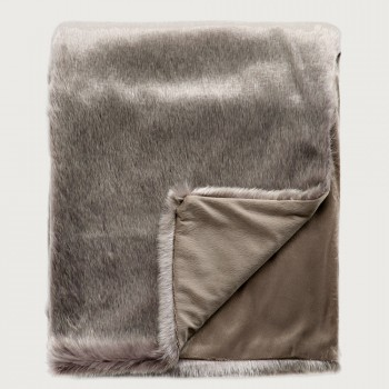 Limon Elmwood Throw, Frosted Chinchilla, Frosted Chinchilla