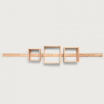 Woodwall Floating Cube Set, Light