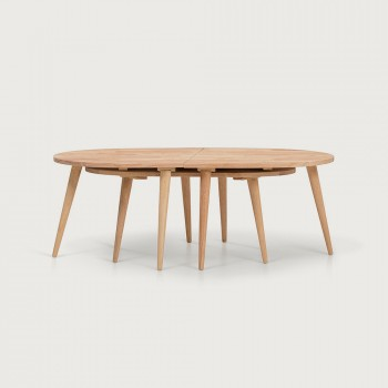 Woodwall Nest Coffee Tables, Light