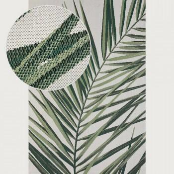Limon Royal Palm Outdoor Rug - 160 x 230 cm, Cream/Green
