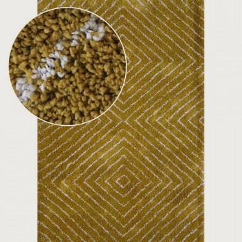 Limon Pyramid Rug - 160 x 230 cm, Ochre/Fawn