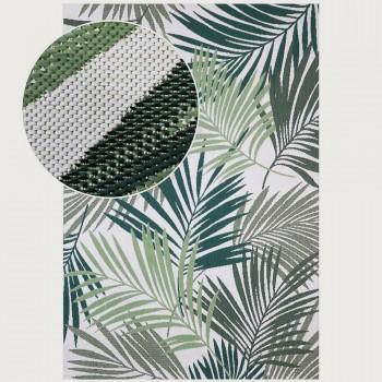 Limon Canopy Outdoor Rug - 200 x 300 cm, Cream/Green