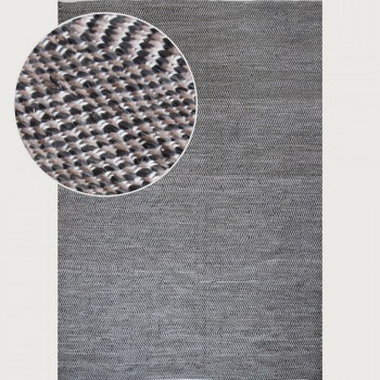 Signature Rugs Sally Outdoor Rug - 160 x 230 cm, Taupe/Black